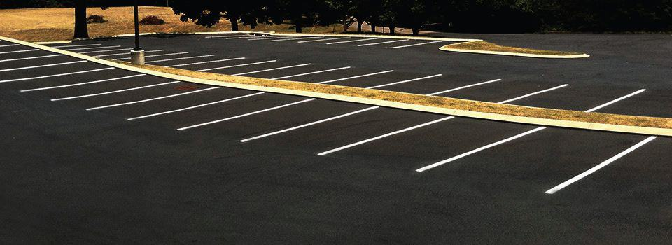 Striping, Parking Lots, Commercial